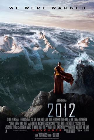 плакат фильма 2012