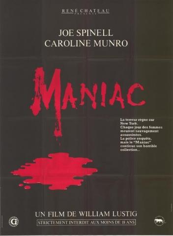 плакат фильма Маньяк