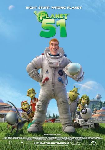 плакат фильма Планета 51