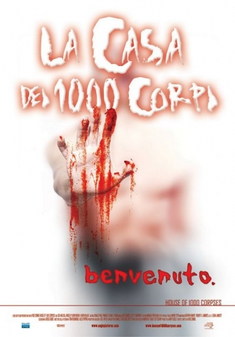 плакат фильма Дом 1000 трупов