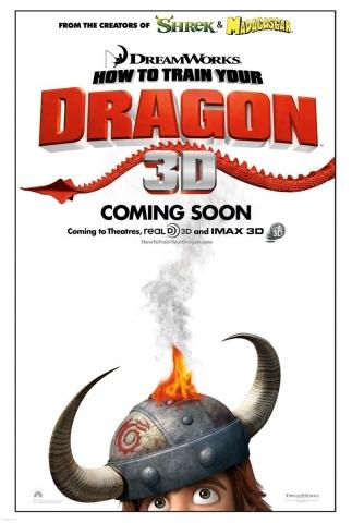 плакат фильма Как приручить дракона
