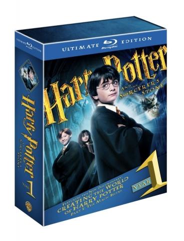 плакат фильма Blu-Ray Гарри Поттер и Философский камень