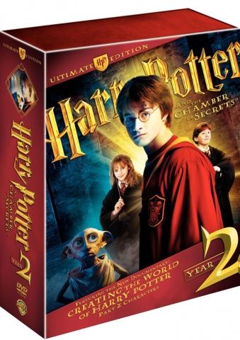 плакат фильма DVD Гарри Поттер и Тайная комната