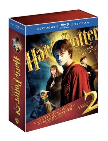 плакат фильма Blu-Ray Гарри Поттер и Тайная комната