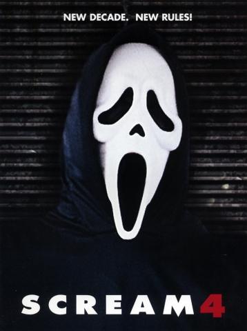 плакат фильма тизер Крик 4