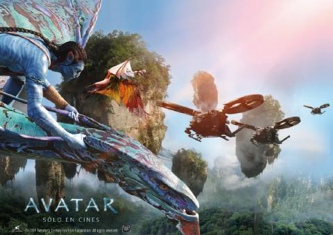плакат фильма биллборды Аватар