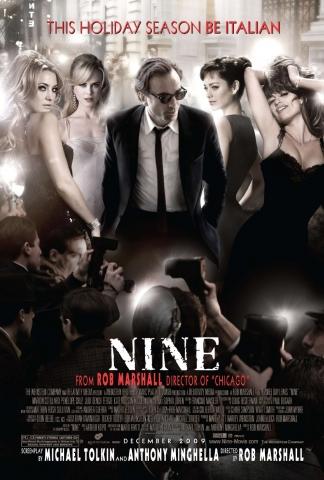 плакат фильма постер Девять