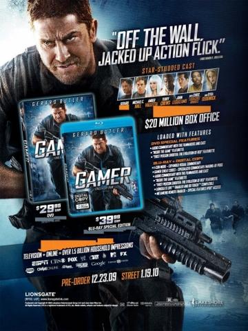 плакат фильма AD Геймер