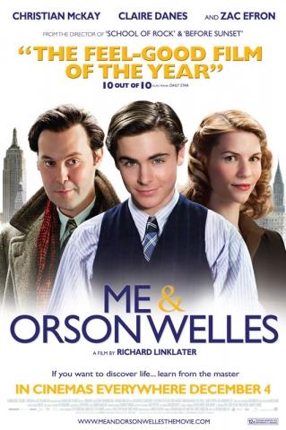плакат фильма Я и Орсон Уэллс*