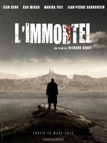 плакат фильма 22 пули: Бессмертный