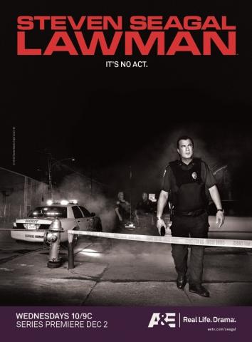 плакат фильма Стивен Сигал в законе*