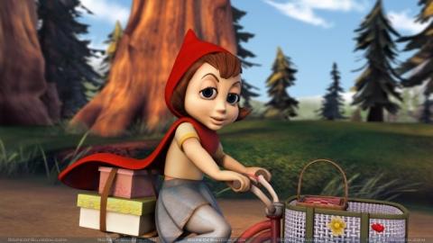 кадры из фильма Правдивая история Красной Шапки