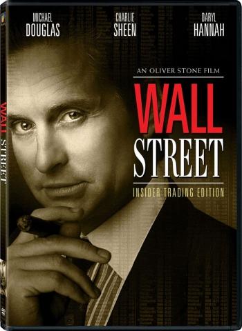 плакат фильма DVD Уолл-стрит