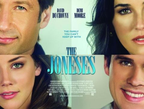 плакат фильма биллборды Семейка Джонсов