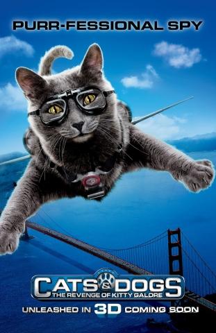 плакат фильма характер-постер Кошки против собак: Месть Китти Галор