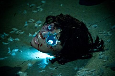кадр №40528 из фильма Лабиринт страха 3D