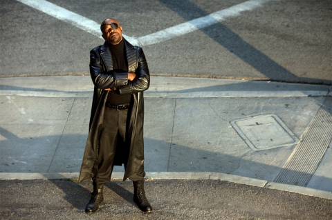 кадры из фильма Железный человек 2 Сэмюэль Л. Джексон,