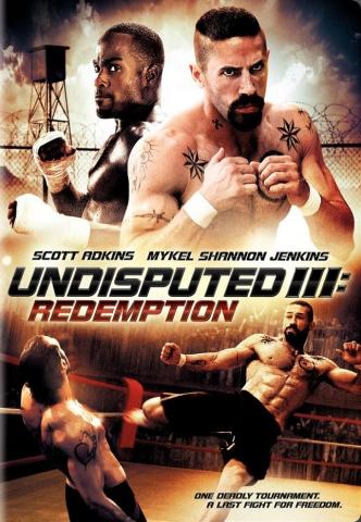 плакат фильма DVD Неоспоримый 3