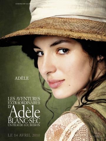 плакат фильма характер-постер Необычайные приключения Адель