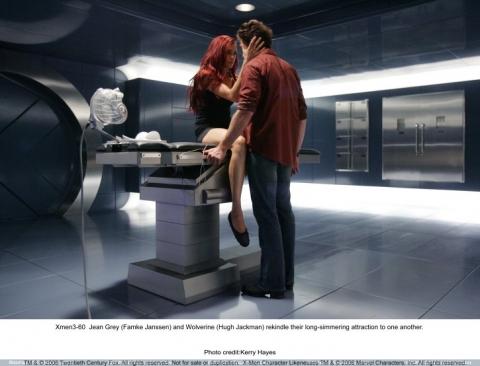 кадры из фильма Люди Икс: Последняя битва Хью Джекмен, Фамке Янссен,