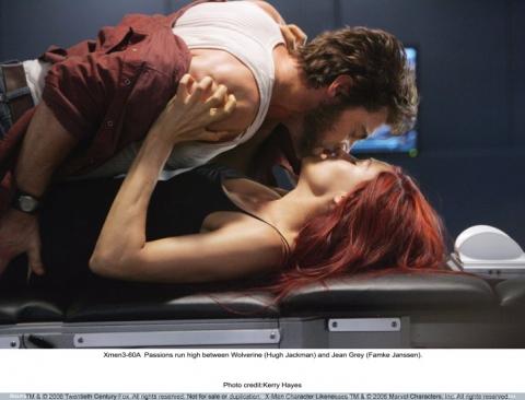 кадры из фильма Люди Икс: Последняя битва Фамке Янссен, Хью Джекмен,