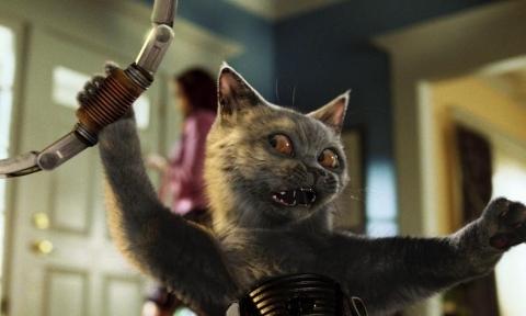 кадр №46831 из фильма Кошки против собак