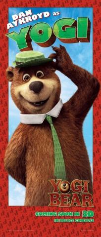 плакат фильма баннер Медведь Йоги