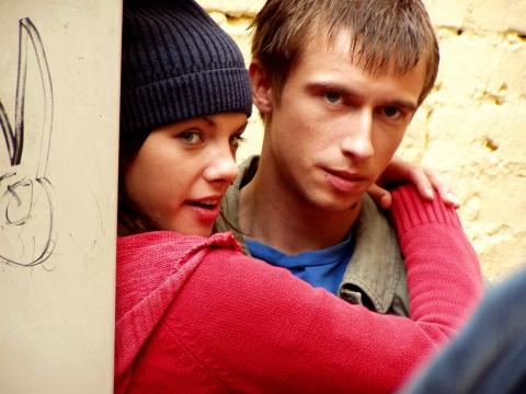 кадры из фильма Хоттабыч Лива Круминя, Мариус Ямпольскис,