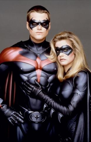 промо-слайды Бэтмен и Робин Крис О'Доннелл, Алисия Сильверстоун,