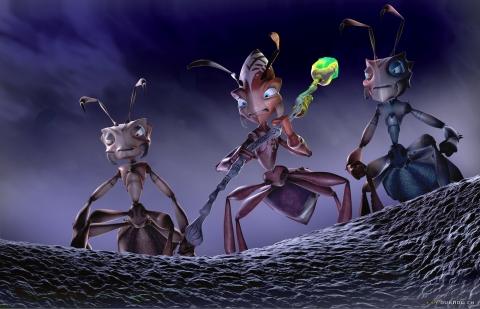 кадр №5150 из фильма Гроза муравьев