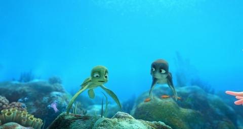 кадр №51503 из фильма Шевели ластами 3D