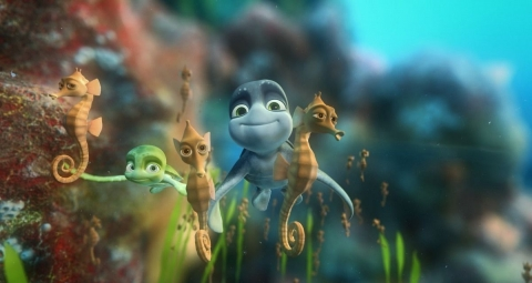 кадр №51504 из фильма Шевели ластами 3D