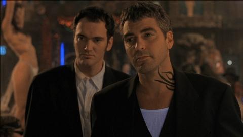 кадры из фильма От заката до рассвета Джордж Клуни, Квентин Тарантино,