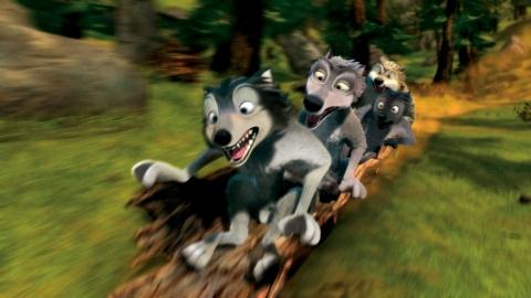 кадр №54496 из фильма Альфа и Омега: Клыкастая братва 3D