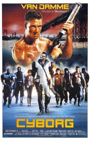 плакат фильма постер Киборг