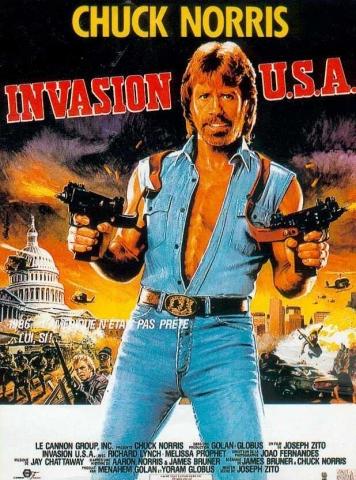 плакат фильма постер Вторжение в США