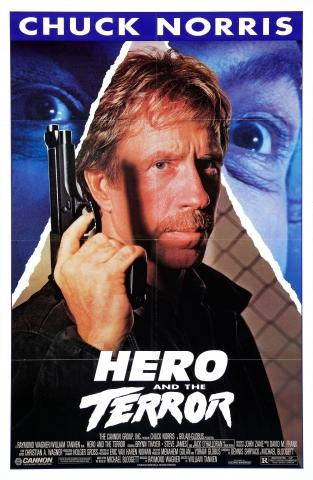 плакат фильма постер Герой и Ужас