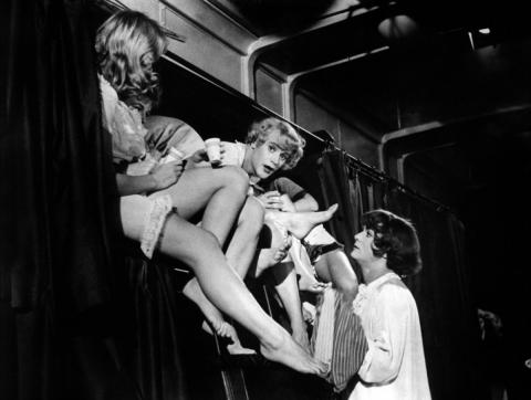 кадр №57381 из фильма В джазе только девушки