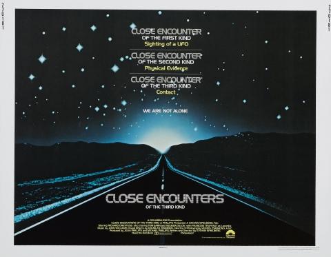 плакат фильма биллборды Близкие контакты третьей степени