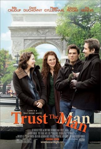 плакат фильма постер Доверься мужчине