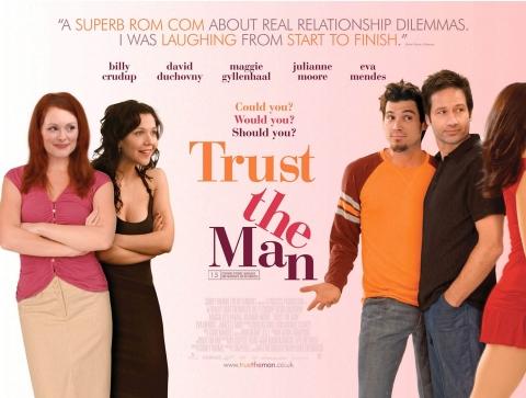плакат фильма биллборды Доверься мужчине