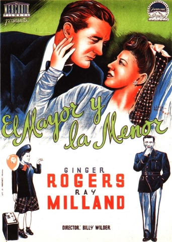 плакат фильма постер Майор и малютка