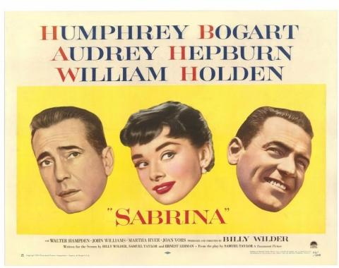 плакат фильма биллборды Сабрина