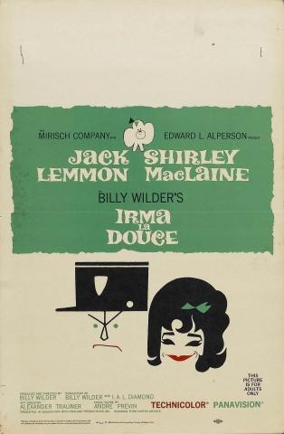 плакат фильма постер Нежная Ирма