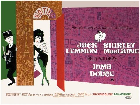 плакат фильма биллборды Нежная Ирма