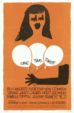 плакат фильма постер Один, два, три