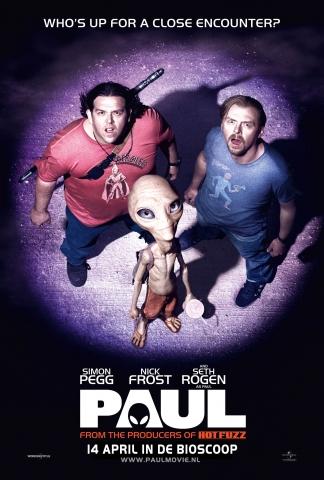 плакат фильма тизер Пол: Секретный материальчик