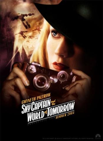 плакат фильма характер-постер Небесный капитан и мир будущего Гвинет Пэлтроу,