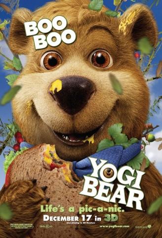 плакат фильма характер-постер Медведь Йоги
