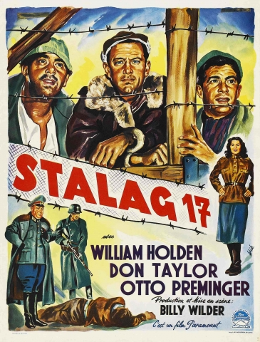 плакат фильма постер Шталаг 17